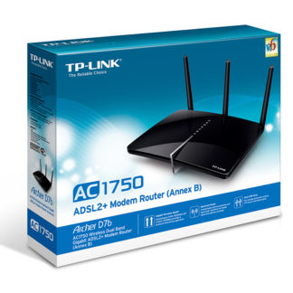ROUTER ADSL2 WIRELESS AC 750MBPS