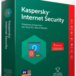 KASPERSKY INTERNET SECURITY 2017 MD - 1 Ano